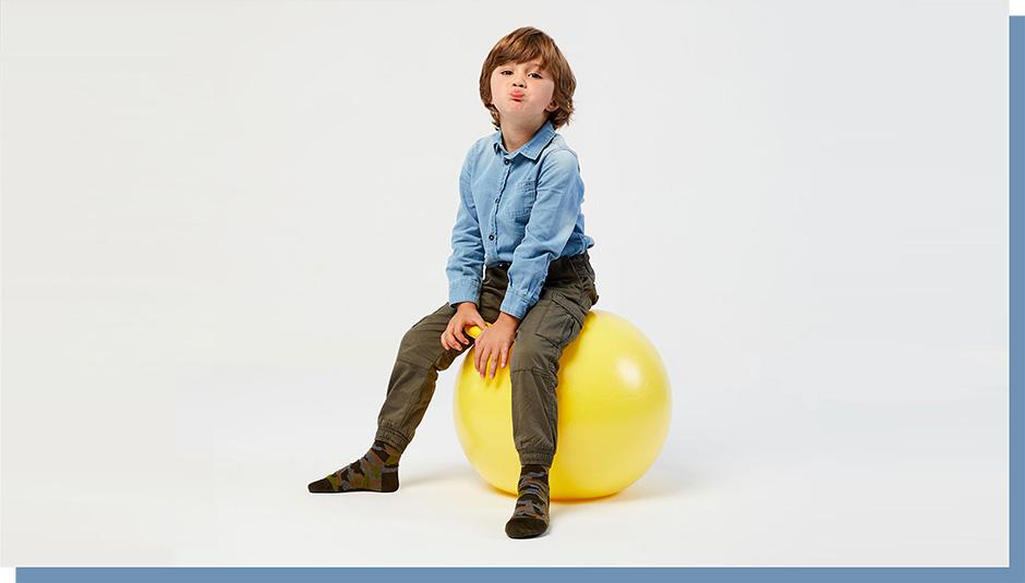 Nouveau Socquettes En Coton Fantaisie Pour Enfants